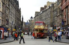 Royal mile, Edinburgh Stock Photos