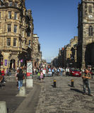 The Royal Mile in Edinburgh Stock Images