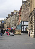 The Royal Mile in Edinburgh Stock Image