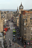 Royal Mile Edinburgh Old Town Stock Photo