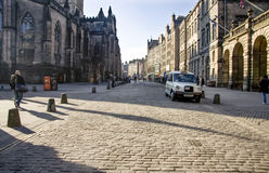 Royal Mile, Edinburgh Royalty Free Stock Photos
