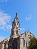 Royal Mile in Edinburgh. UK, Scotland, Edinburgh, Royal Mile, View of the Tron Kirk Royalty Free Stock Photography