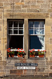 Royal Mile Street in Edinburgh Stock Photo