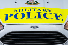 Royal Military Police car Royalty Free Stock Images