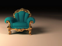 Royal modern armchair Royalty Free Stock Photography