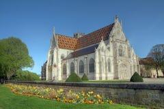 Royal Monastery of Brou, Bourg-en-Bresse, France stock photo
