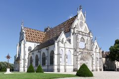 Royal Monastery of Brou in Bourg en Bresse Royalty Free Stock Photo