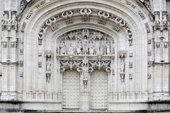 Royal Monastery of Brou at Bourg-en-Bresse Royalty Free Stock Images