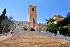 Royal Monastery El Puig, Spain Stock Photo