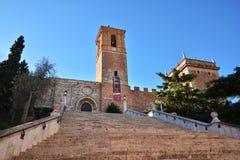 Royal Monastery of Saint Mary of El Puig, Spain Stock Photo