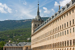 Royal Monastery of San Lorenzo. De El Escorial Stock Images