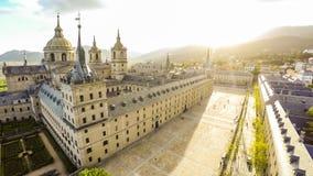 Royal Monastery of San Lorenzo de El Escorial. Stock Image