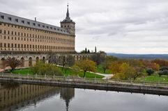 Royal Monastery of San Lorenzo de El Escorial, Madrid Stock Photography