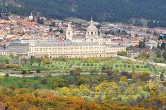 Royal Monastery of San Lorenzo de El Escorial, Madrid Stock Photo