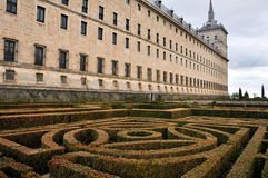 Royal Monastery of San Lorenzo de El Escorial, Madrid Royalty Free Stock Photo