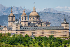 Royal Monastery of San Lorenzo de El Escorial near Madrid, Spain Royalty Free Stock Image