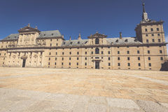 Royal Monastery of San Lorenzo de El Escorial near Madrid, Spain Royalty Free Stock Photography
