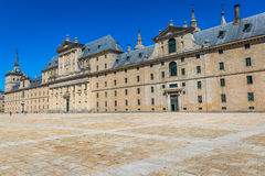 Royal Monastery of San Lorenzo de El Escorial near Madrid, Spain Royalty Free Stock Photography