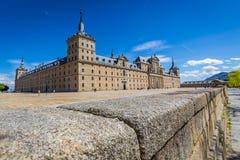 Royal Monastery of San Lorenzo de El Escorial near Madrid, Spain Stock Photography