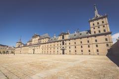 Royal Monastery of San Lorenzo de El Escorial near Madrid, Spain Royalty Free Stock Images