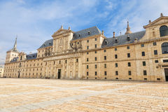 Royal Monastery of San Lorenzo de El Escorial Stock Images