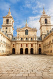 Royal Monastery of San Lorenzo de El Escorial Royalty Free Stock Photography