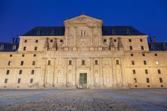 Royal Monastery of San Lorenzo de El Escorial Stock Photo