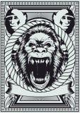Royal monkey Royalty Free Stock Photos