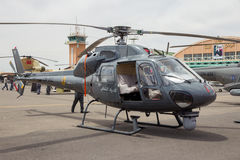 Royal Moroccan Gendarmerie AS355 Ecureuil helicopter Stock Photo