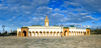 Panoramic view of royal mosque (Ahl Fas), Rabat - Morocco Stock Photos