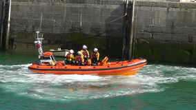 Royal National Lifeboat Institute stock video footage