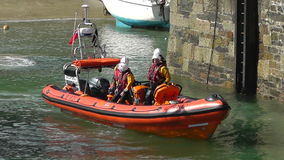 Royal National Lifeboat Institute stock video