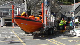 Royal National Lifeboat Institute stock footage