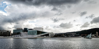 The Royal National Opera House in Oslo, Norway Royalty Free Stock Image