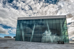 The Royal National Opera House in Oslo, Norway Royalty Free Stock Photography