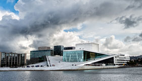 The Royal National Opera House in Oslo, Norway Stock Image