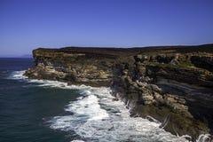 Royal National Park coast, Australia royalty free stock photos