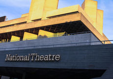The Royal National Theatre iconic masterpiece of the New Brutali Stock Images