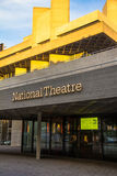 The Royal National Theatre iconic masterpiece of the New Brutalism . London Royalty Free Stock Photos