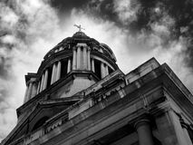 Royal Naval College building Royalty Free Stock Photo