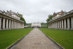 Royal naval college, Greenwich Royalty Free Stock Photography
