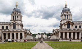 Royal Naval College Greenwich England stock photo