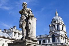 Royal Naval College in Greenwich, London Royalty Free Stock Photography