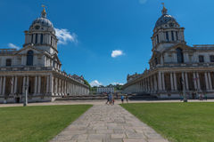 Royal naval college Greenwich royalty free stock photo