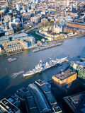 Royal Navy Arsenal. On Thames Royalty Free Stock Images