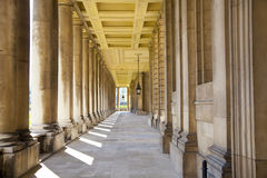 Royal navy chapel and classic colonnaden Royalty Free Stock Image