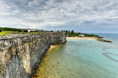 Royal Navy Dockyard - Bermuda. Royal Navy Dockyard, HMD Bermuda was the principal base of the Royal Navy in the Western Atlantic between American independence royalty free stock images