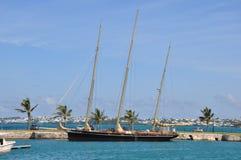 The Royal Navy Dockyard in Bermuda Royalty Free Stock Images