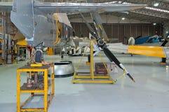 Free Royal Navy Hawker Sea Fury T.20 WG655 Restored, Duxford, IWM Royalty Free Stock Photos - 49477398