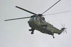Royal Navy Helicopter Stock Image